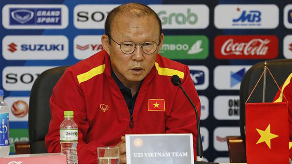 """HLV Park Hang Seo: """"U23 Việt Nam đang đối mặt nhiều áp lực"""""""